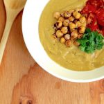 New Recipe Alert! Chickpea Gazpacho Who said you couldnt enjoyhellip