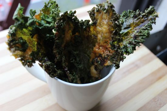 Easy recipe for kale chips