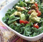 Crunchy Avocado and Kale Salad