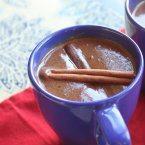Rum Infused Dark Hot Chocolate