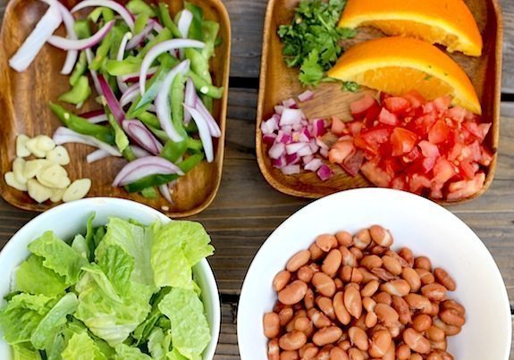 how to make veggie salad