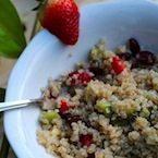 Fluffy Breakfast Quinoa