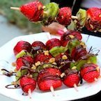 Chocolate Fruit Kabob Recipe