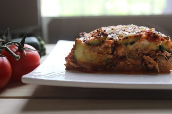 Low Carb Zucchini Lasagna Recipe