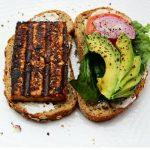Grilled Sesame Tofu Sandwich