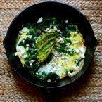 Kale Skillet Omelette