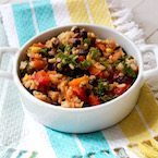 Brown Rice Salsa Salad