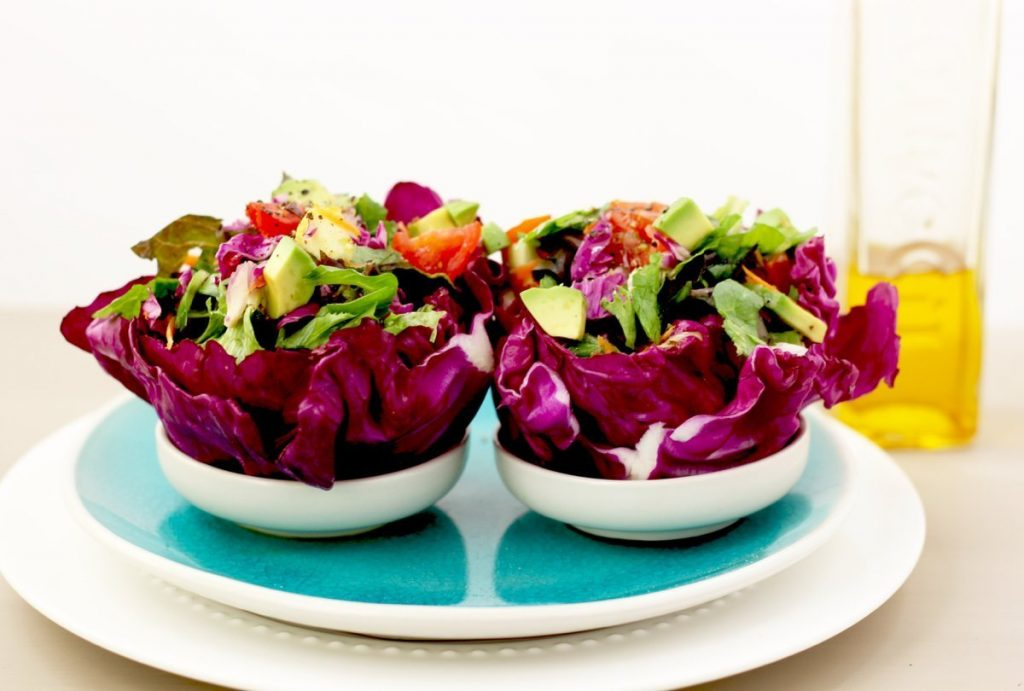 these salad bowls are packed with healthy fats and fiber and contain a significant amount of potassium magnesium calcium vitamin c u0026 b12 - Salad Bowls