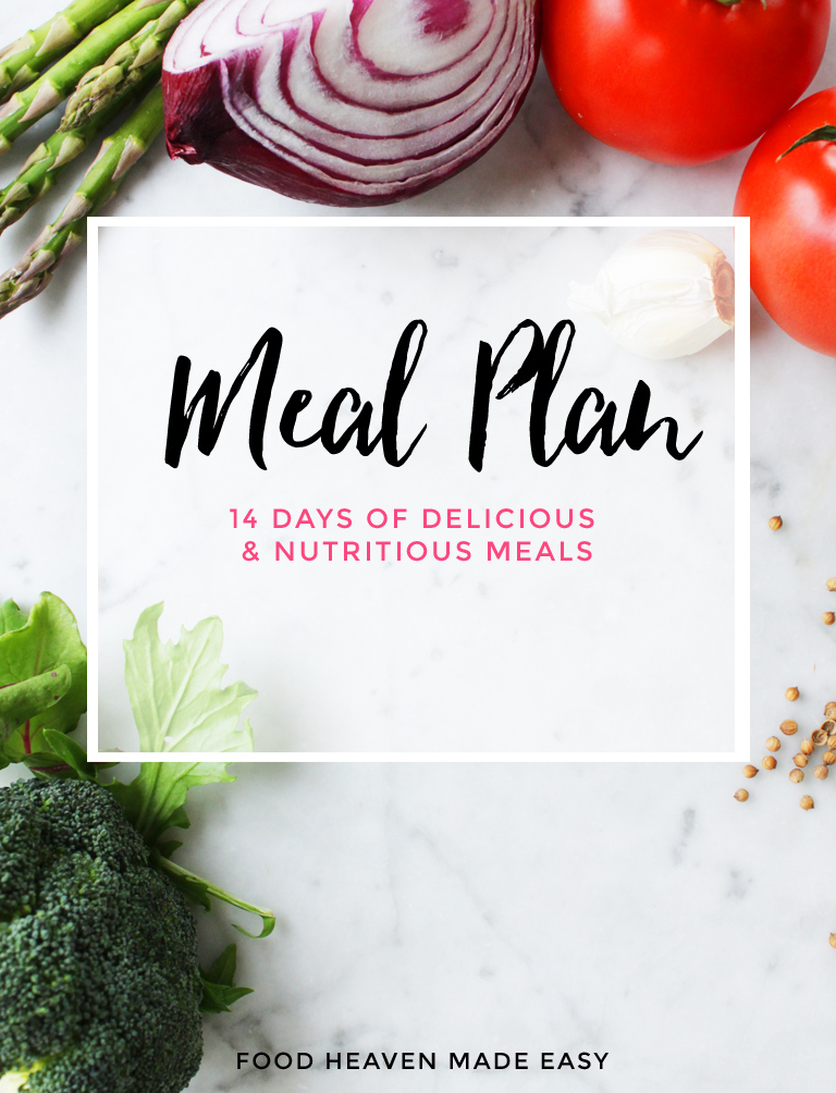 Our Easy Healthy Day Meal Plan  Food Heaven Made Easy