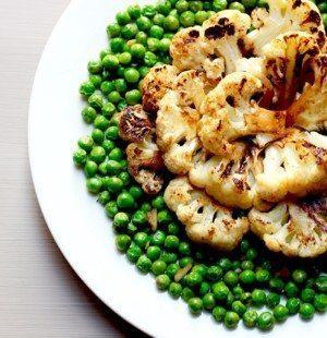 Garlic Sesame Cauliflower Steaks