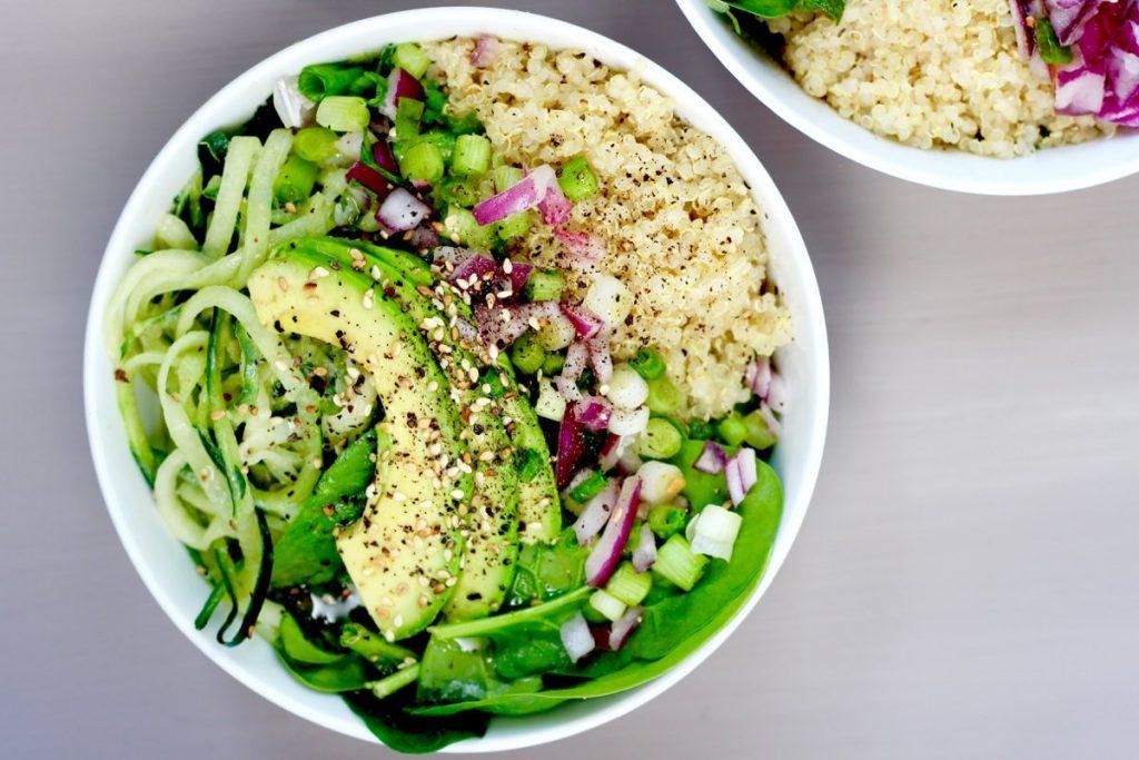 cucumber quinoa salad 1