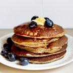 Simple Banana Oatmeal Pancakes