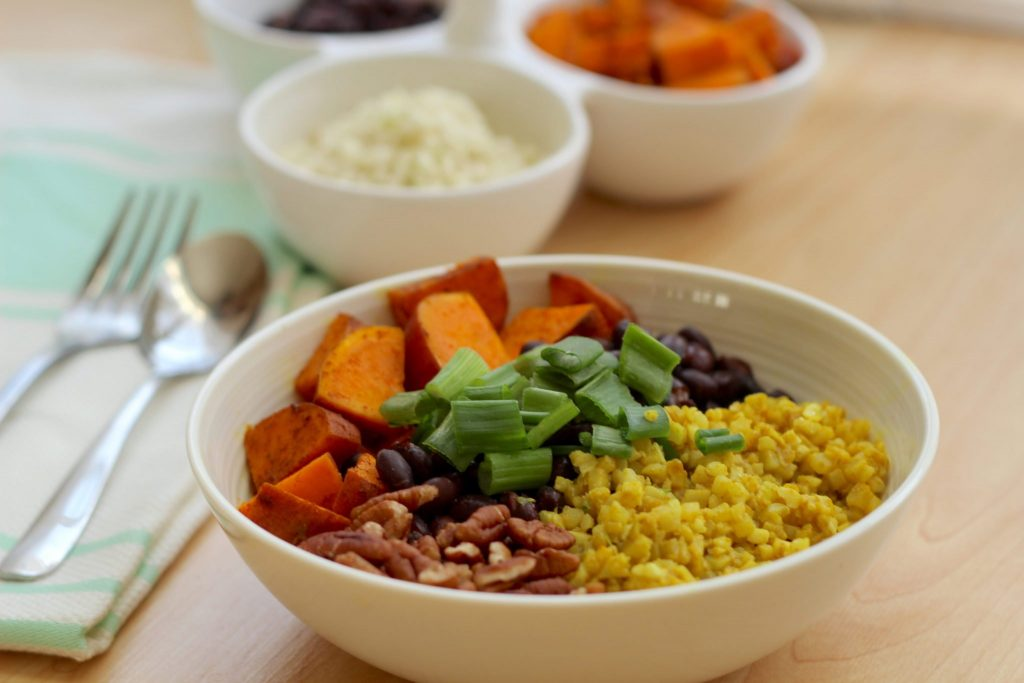 Black Bean Sweet Potato Bowl