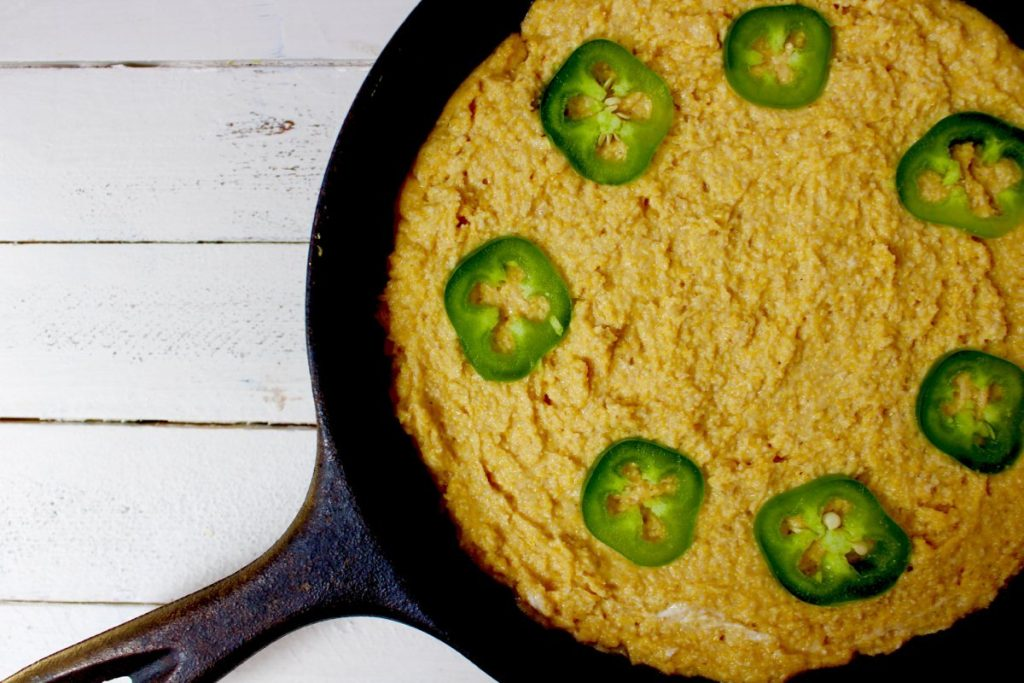 Light Jalapeño Cornbread
