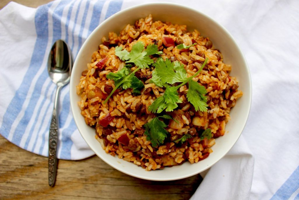 Coconut Lentil Rice