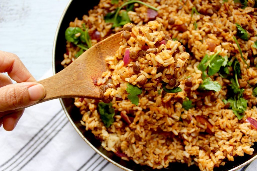 Coconut Lentil Rice