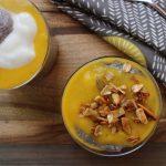 New recipe and vid is up!! Vegan Mango Chia Seedhellip
