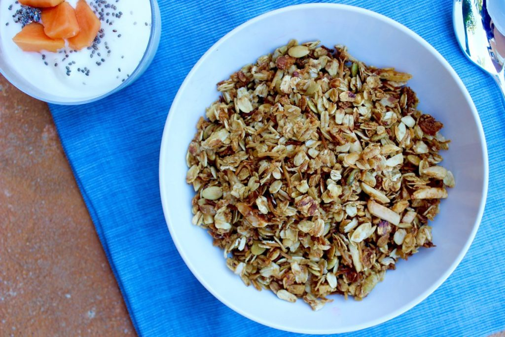 Ginger Infused Granola