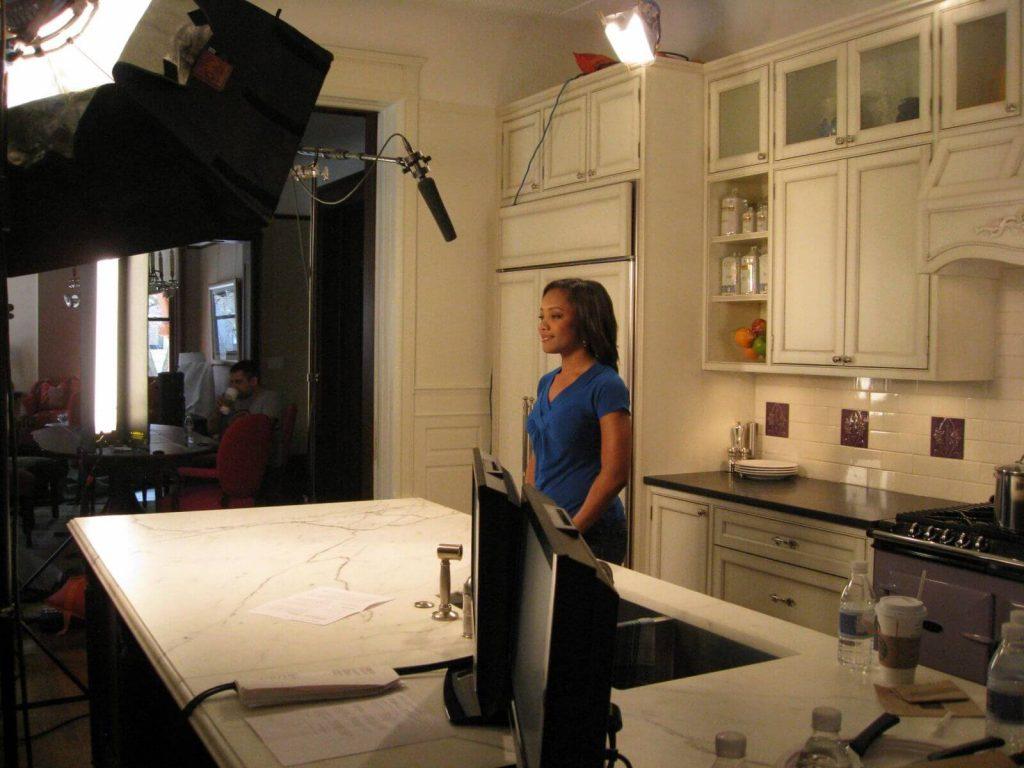 Marisa Moore Video Shoot