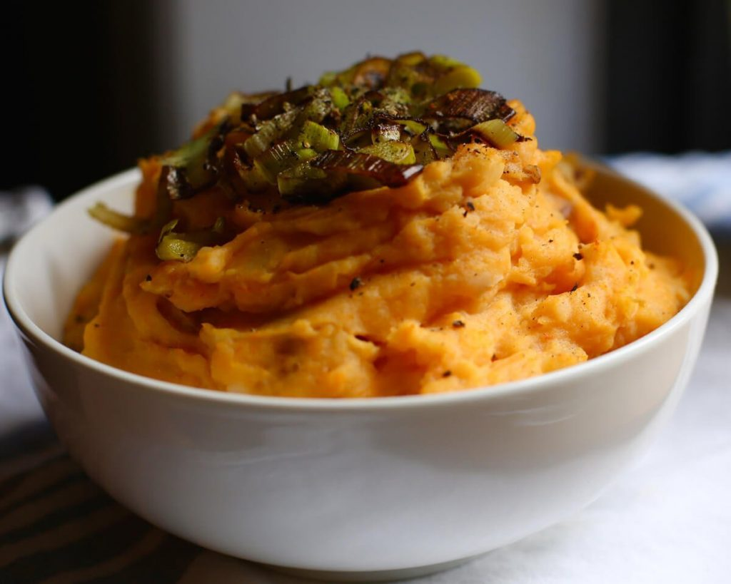Creamy Butternut Squash Mashed Potatoes
