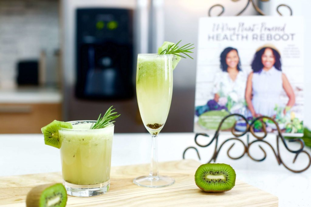 rosemary kiwi cocktails