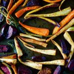 Just finished roasting these beautiful winter root veggies with sagehellip