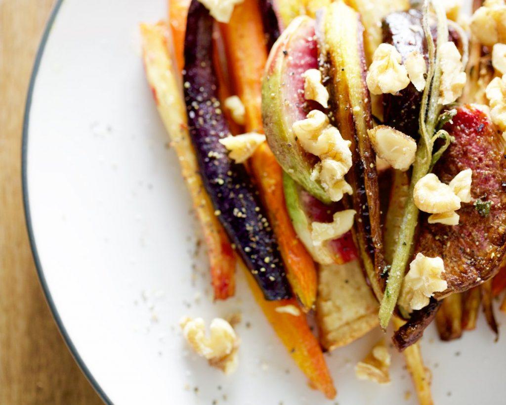 Roasted Winter Root Vegetable Salad