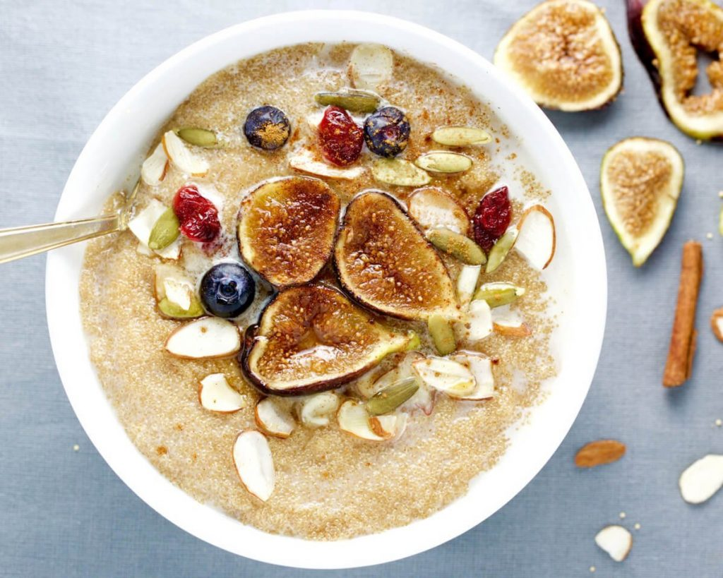 Warm Maple Amaranth Porridge