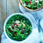 The creamiest White Bean Pesto Arugula Salad is up! Anyhellip