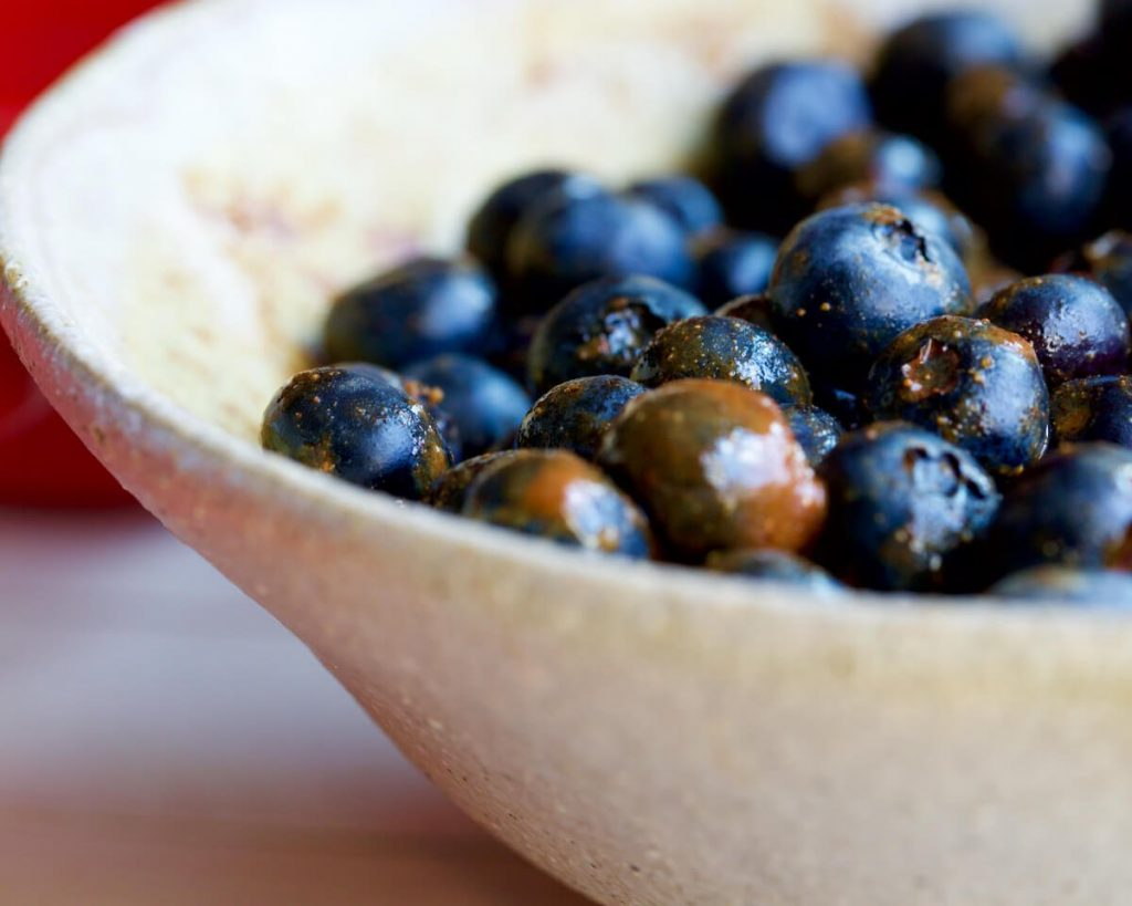 Warm Blueberry Crumble Recipe