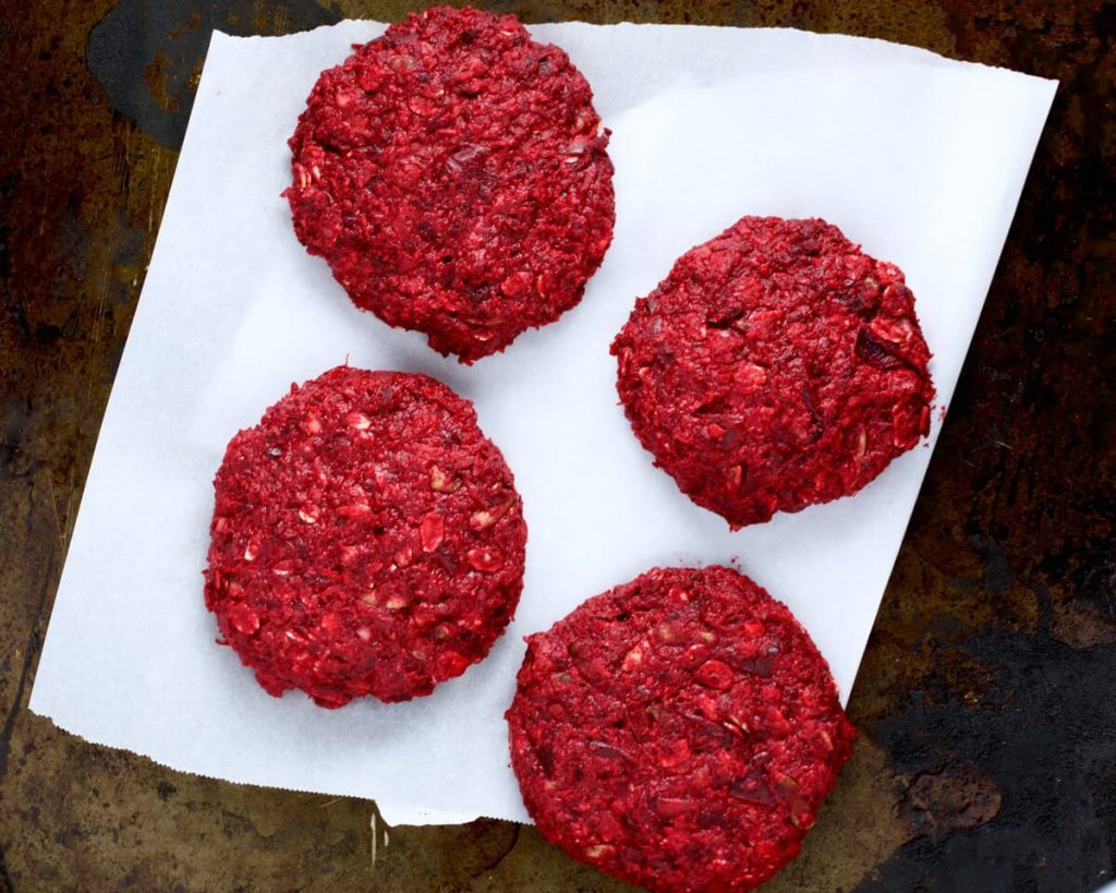 The Ultimate Beet Burger