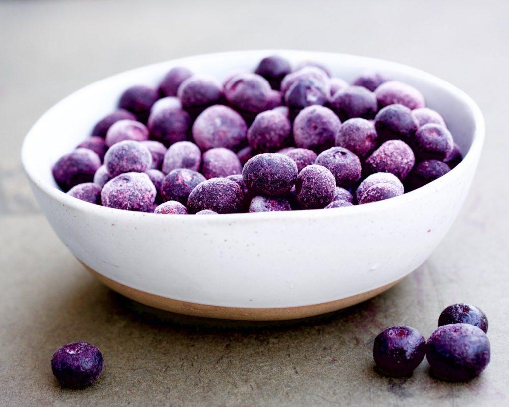 Bite-Sized Vegan Blueberry Cheesecakes