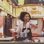 Doing cooking demos and cookbook signings at the summerfancyfoodshow withhellip