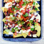 Today were slaying with these Loaded Summer Vegan Nachos withhellip
