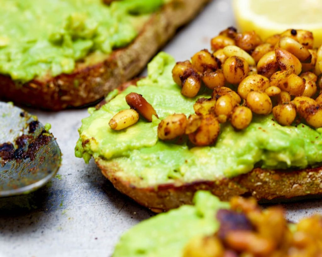 Avocado White Bean Toast