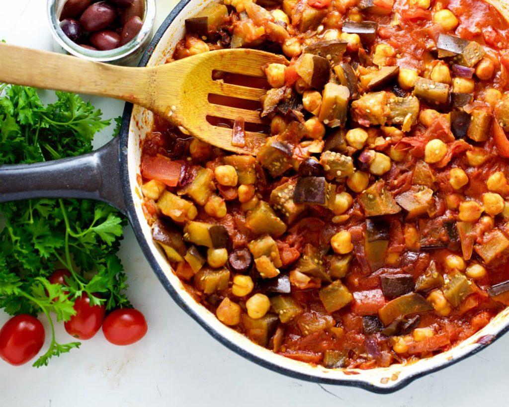 Mediterranean Vegetarian Mini Casseroles